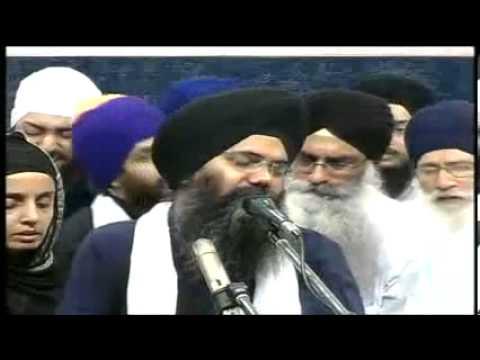 Bhai Manpreet Singh ji Kanpuri Manchester Akhand Kirtan Samagam 2013 Rainsabai 14/12/13
