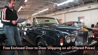 1985 Rolls Royce Corniche Convertible 1 of 39 for sale with test drive, walk through video