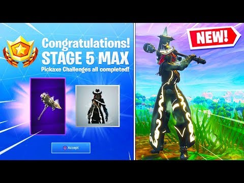 New RECKONING Pickaxe & Max CALAMITY Skin Stage 5 GAMEPLAY In Fortnite Battle Royale! (SEASON 6)