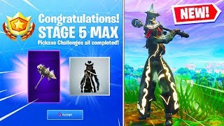 Nuovo RECKONING Pickaxe & Max CALAMITY Skin Stage 5 GAMEPLAY in Fortnite Battle Royale! (STAGIONE 6)