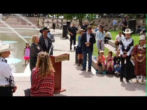 2016 Calgary Stampede Parade Marshals Youtube