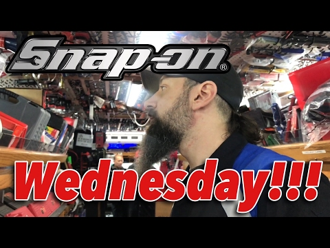 Snap-on Wednesday - New Tools You Have To See!! - Snap-on Tool Haul