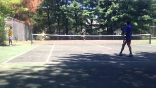 Tennis Games for Kids - Drills - King of the Court