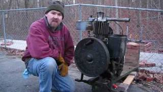 1924 Fuller and Johnson Farm Pump Engine 20110108.wmv