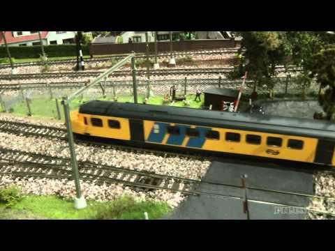 Dutch Model Railway Layout in HO Scale