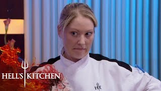 Black Jackets Struggles To Explain What She's Cooked | Hell's Kitchen
