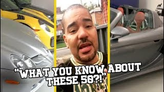 DJ Envy Stunts On 50 Cent With His Car Collection!