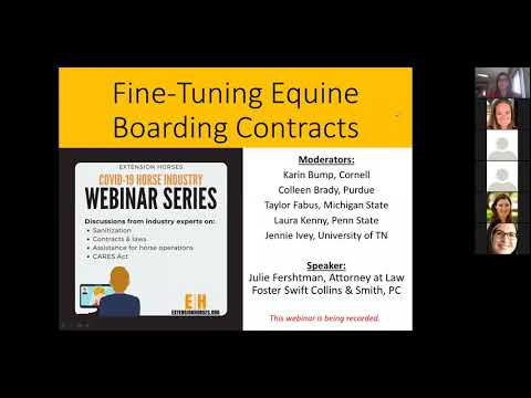 Fine Tuning Boarding Contracts