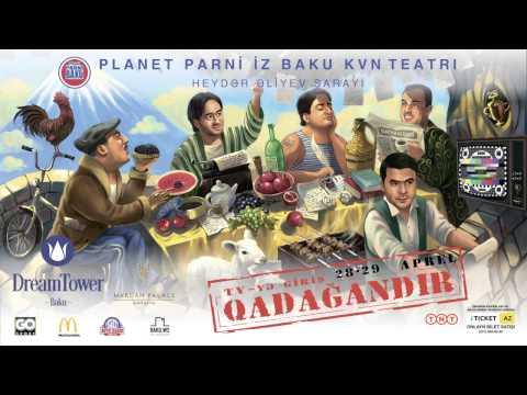 Planet Parni iz Baku KVN Teatrının yeni 'TV-yə giriş qadağandır' adli solo konserti. Anons.