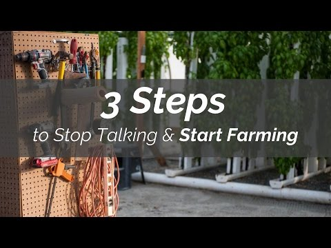 FREE Webinar: 3 Steps to Stop Talking & Start Farming
