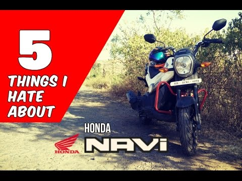 5 THING I HATE ABOUT HONDA NAVI AND FEATURING BENELLI TNT 135