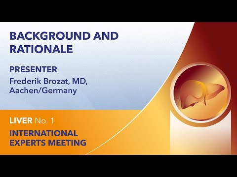 Background and rationale | Frederik Brozat | Liver Webinar No. 1 | 2021