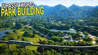 Let's Build - Jurassic World Evolution | T-Rex, Raptors, and Huge Profits!