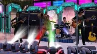 Singer with Rock Band created with THE SIMS 3