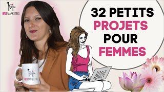 32 Petits Projets Pour Femmes Qui Rapportent Et Sans Diplômes