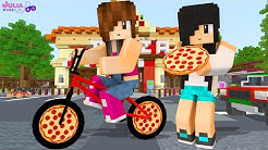 BICICLETA DE PIZZA NO MINECRAFT (Pizza Delivery Simulator)