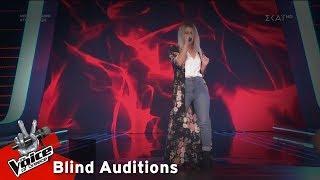 Λία Γιαρλέλη - Havana   5o Blind Audition   The Voice of Greece