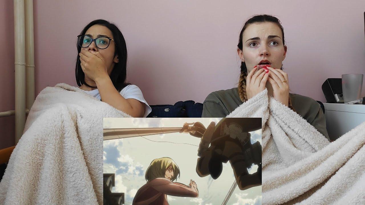 Attack on Titan 1x24 Reaction
