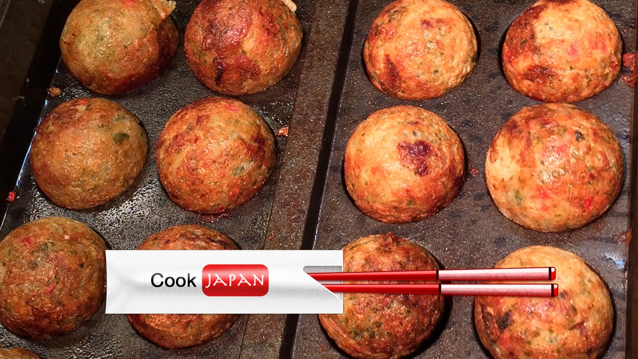 Takoyaki (Japanese snack), how to cook. - YouTube