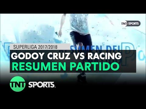 Resumen de Godoy Cruz vs Racing (1-2) | Fecha 17 - Superliga Argentina 2017/2018