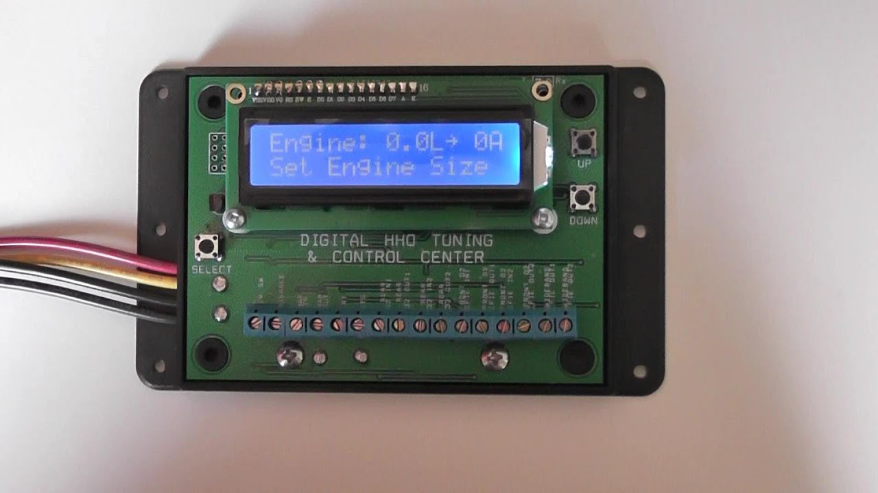 Advanced Digital Tuner For Hho Hydrogen Generators Efie Pwm Map Wiring Diagram And More