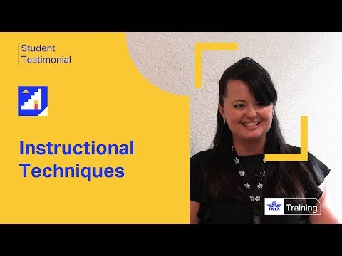 IATA Training | Instructional Techniques | Student Testimonial