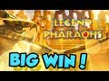 HUGE WIN on Pharaoh's Fortune Slot Machine! AWESOME RUN ...