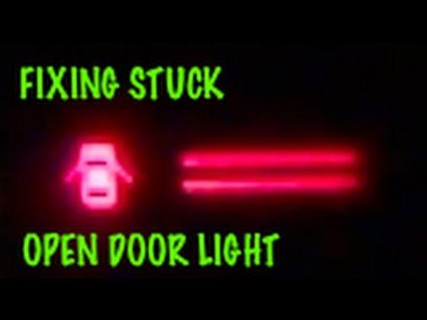 How to fix Open Door  Ajar  Dome light that stays on