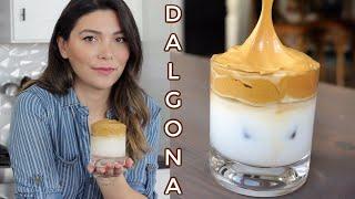 TikTok Meşhur Kahvesi Dalgona Kahve Nasıl Yapılır? | Dalgona Kahve Tarifi | Canan Kurban