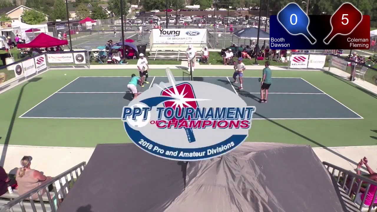 PickleBall Tournament of Champions Mens Pro Doubles Bronze ...