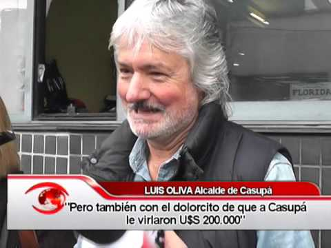 Alcalde Casupá Luis Oliva