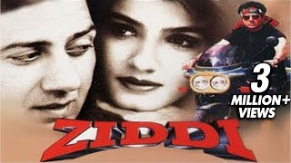 Ziddi Full Movie | Sunny Deol, Ravina Tandon | Bollywood Action Movie
