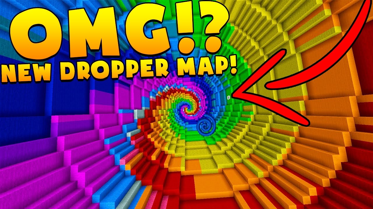 UNLIMITED DROPPER ND NEW EPIC MINECRAFT MAP!? - MinecraftVideos.TV on