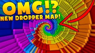 UNLIMITED DROPPER BRAND NEW EPIC MINECRAFT MAP!?