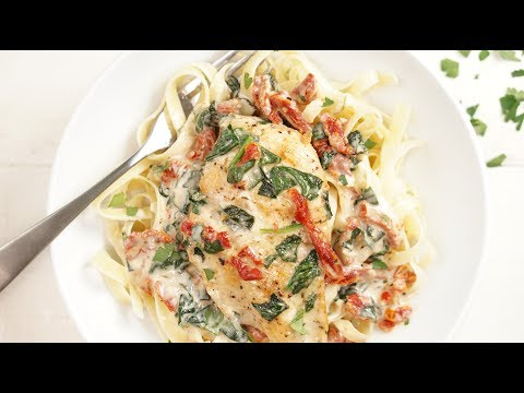 Dreamy, Creamy Tuscan Chicken