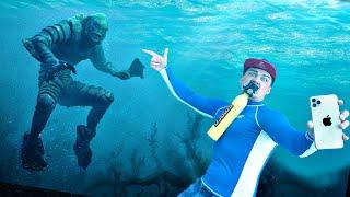 Эти жуткие и опасные находки мы нашли под водой с помощью металлоискателя и акваланга!