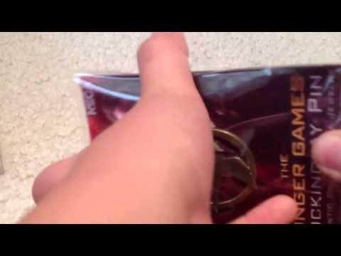 Mockingjay pin unboxing