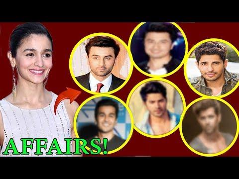 Alia Bhatt's Shocking 6 Secret Affairs Before Dating Ranbir Kapoor | FWF
