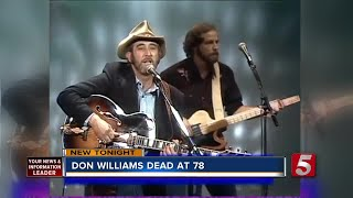 Country Music Singer Don Williams Dies