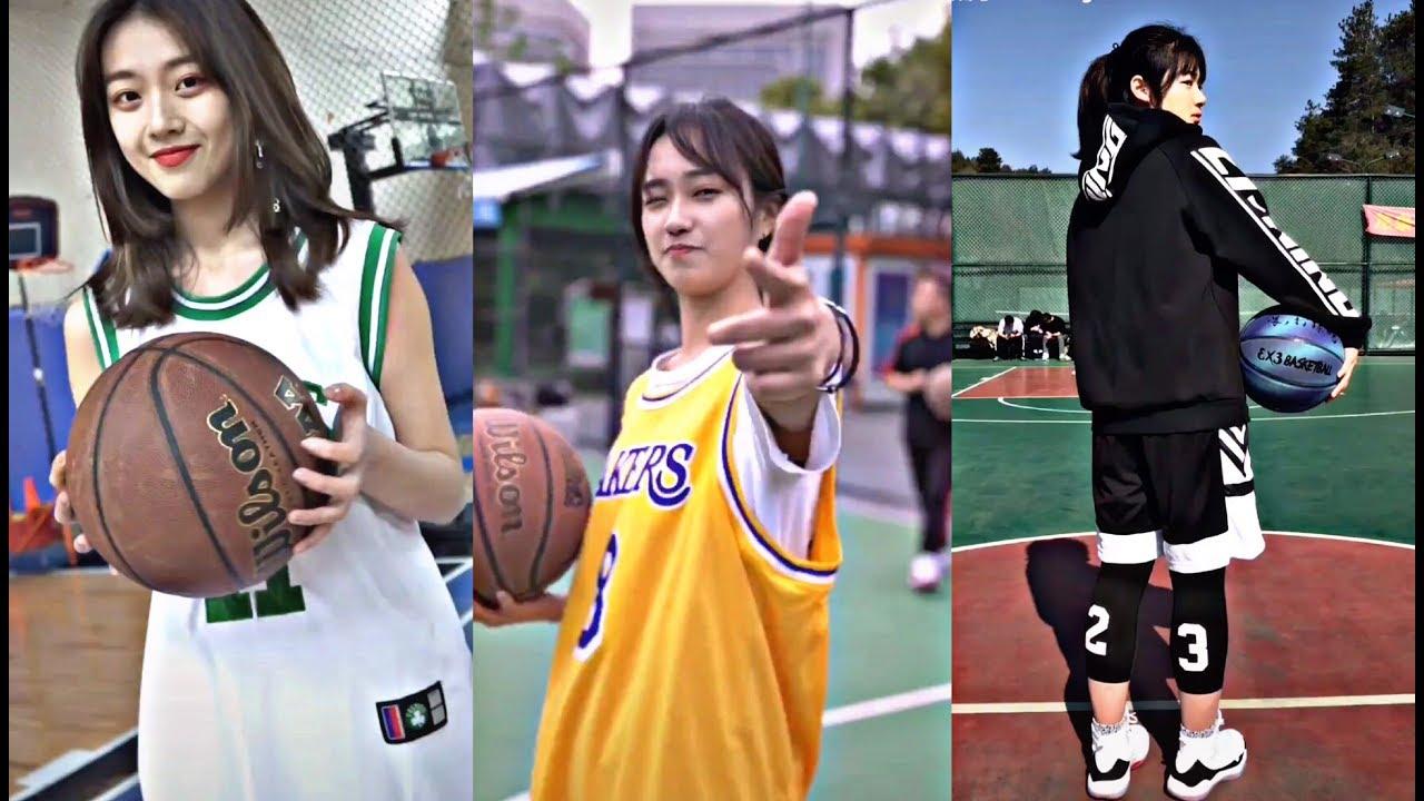 Khi con gái chơi bóng rổ NGẦU không tưởng!!! | Basketball Girl | TikTok China | Douyin 抖音
