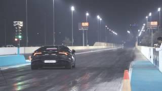 8.99s @ 253 km/h. Lamborghini Huracan TwinTurbo GTT-900 by GoshaTurboTech