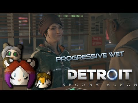 Detroit: Become Human - Progressive Wet - Ep. 10 - Playstation 4