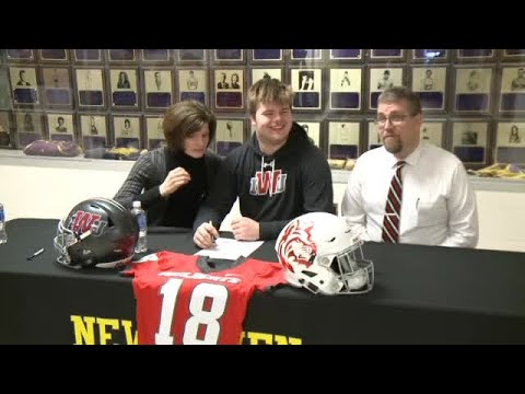 Luke Watson full interview on signing with Indiana Wesleyan football on 2/7/18