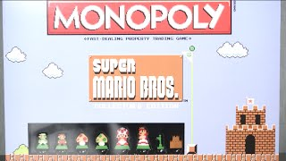 Super Mario Bros Collector's Edition of Monopoly from USAopoly