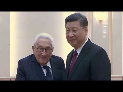 President Xi meets with former US Secretary of State Henry Kissinger
