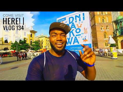"""Welcome to KRAKOW, POLAND!! Vlog 134   """"I have to tell you all something!"""""""