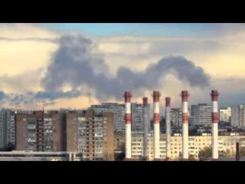 Moscow  industrial urban landscape