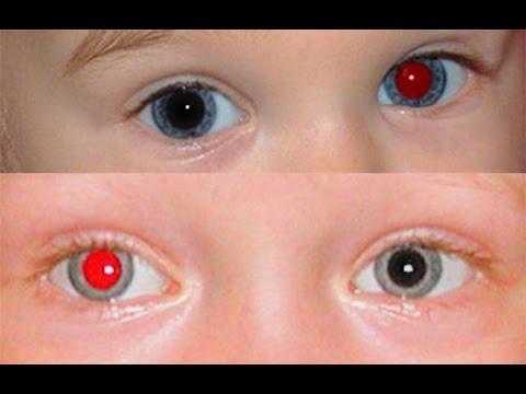 Убираем красные глаза, а точнее зрачки глаза в Фотошоп CS 6