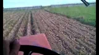Работа копалкой Л-651. Трактор Т-30-69(Копка картофеля в Горномарийском районе., 2015-09-21T15:19:48.000Z)