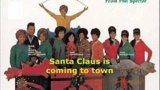 The Crystals - Santa Claus Is Comin